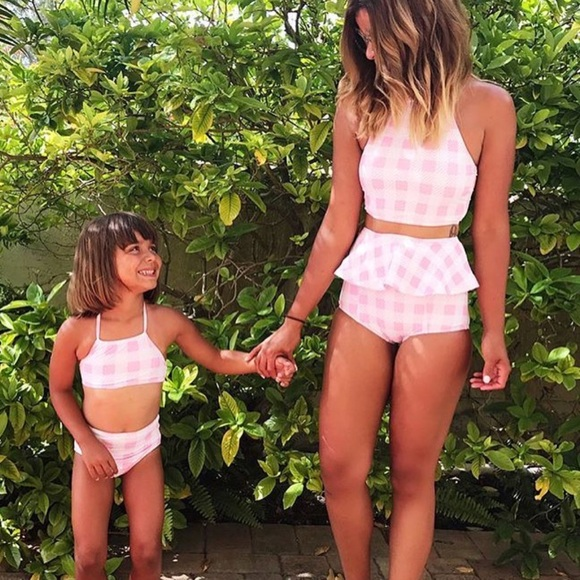 a847e834fff32 pakpak Swim | Mommy Me Matching Suits | Poshmark